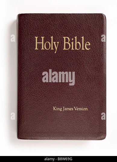 Vintage Leather Look Jeremiah Verse Bible Book Cover Large: Holy Bible Stock Photos & Holy Bible Stock Images
