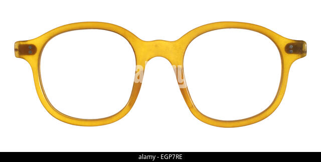Old Fashioned Glasses Frame : Optician And Isolated Background Stock Photos & Optician ...