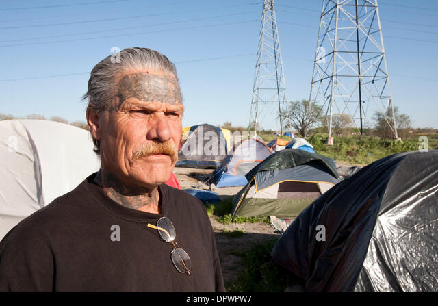 Mar 29 2009 - Sacramento California USA - He was already living at  sc 1 st  Alamy & Tent Jail Stock Photos u0026 Tent Jail Stock Images - Alamy