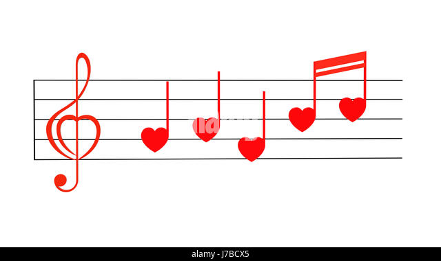 Clef composition concept heart love music note valentine stock clef composition concept heart key love note valentine clef composition concept stock image ccuart Image collections
