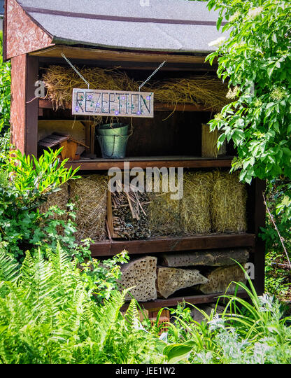 Pyramid Garden Detail,Insect Haven.Multicultural Community Garden Run By  Group Of Horticulturists,