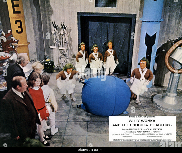 willy wonka and the chocolate factory stock photos willy wonka willy wonka and the chocolate factory 1971 david wolper film gene wilder stock image