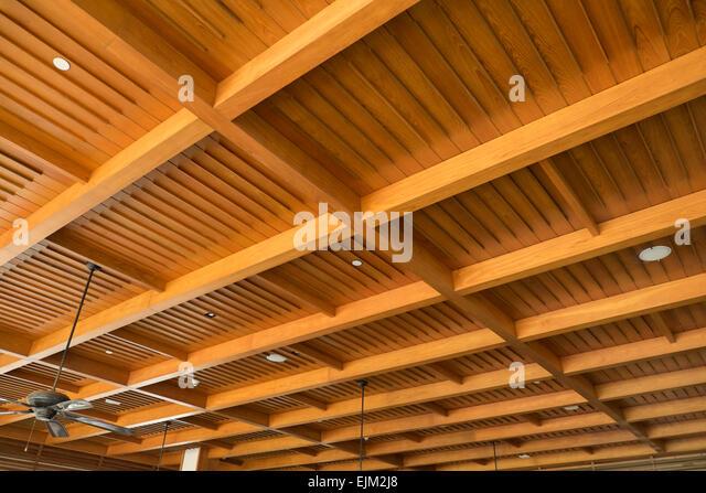 Ceiling Light Design In Sri Lanka : Wood panel ceiling stock photos