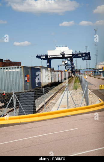 Rail freight terminal stock photos rail freight terminal for New england motor freight tracking
