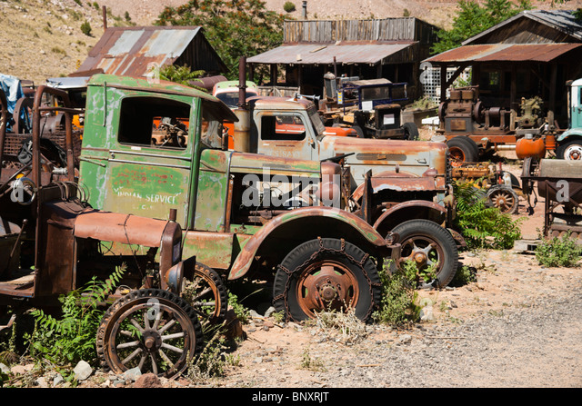 Old mining town near sedona arizona