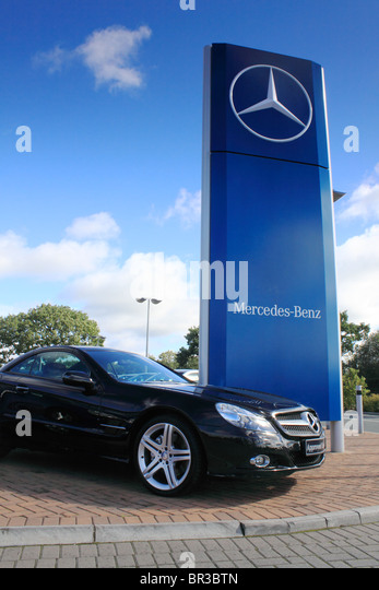 Used car dealer stock photos used car dealer stock for Mercedes benz dealers manchester