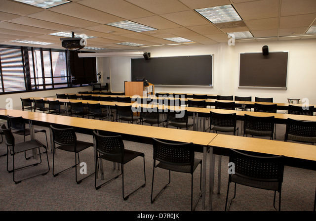 empty college classroom usa d7r0jk Key Factors Of bid4papers Around The USA