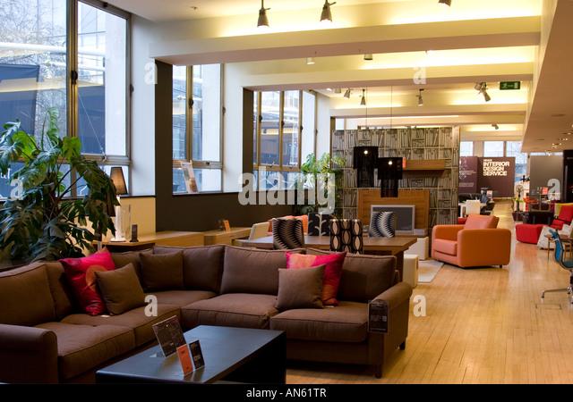 Coffee shop interior uk stock photos coffee shop for Furniture tottenham court road