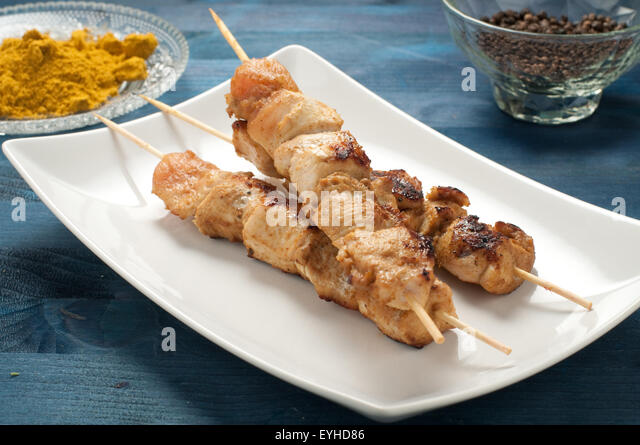 Satay Grill Stock Photos & Satay Grill Stock Images - Alamy