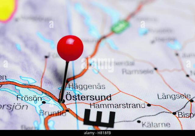 Östersund Stock Photos Östersund Stock Images Alamy - Sweden map ostersund