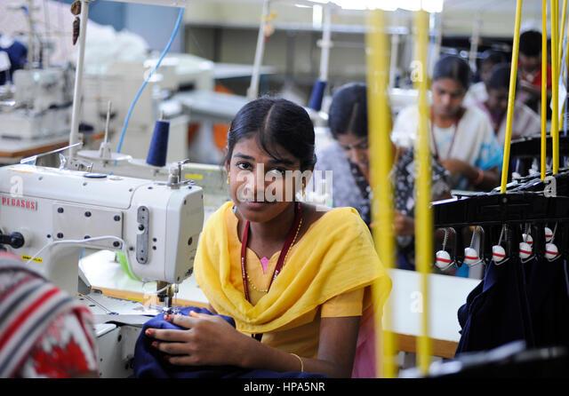 Knitting Units In Tirupur : Tamil nadu cotton stock photos