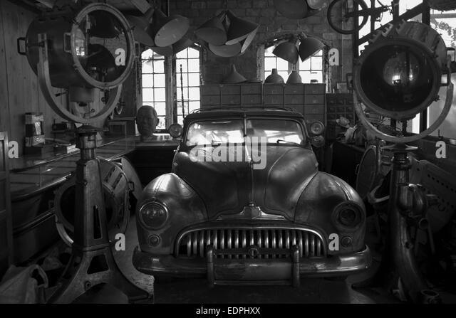 Car collectors garage stock photos car collectors garage for American classics garage