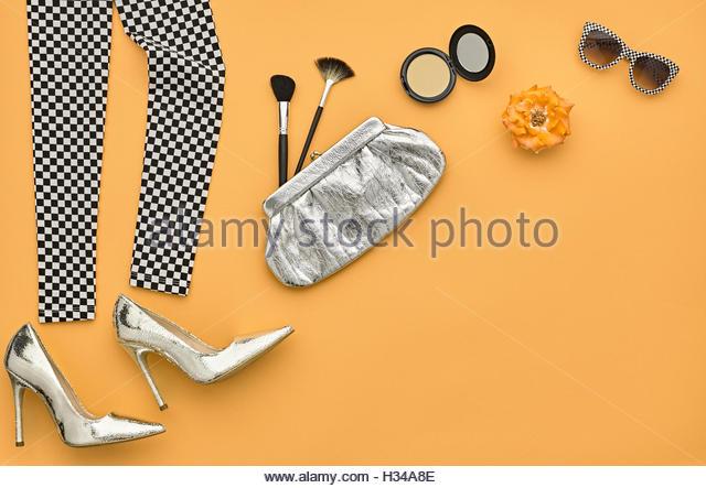 Shiny Leggings White Background Stock Photos Shiny