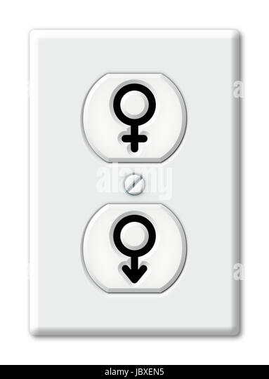 Female And Male Symbols Stock Photos Female And Male Symbols Stock
