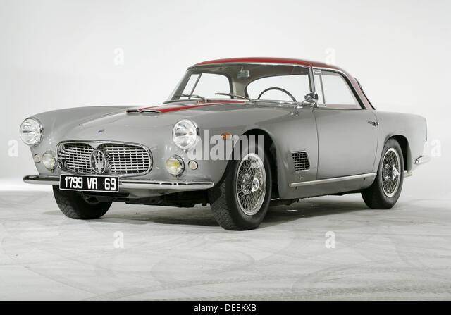 maserati 3500 gt classic car stock image
