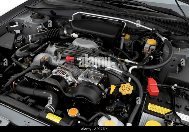 Subaru Impreza Engine Stock Photos Subaru Impreza Engine