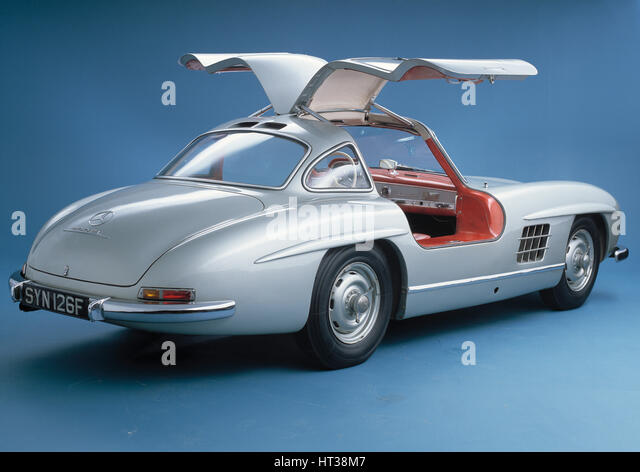 1957 mercedes benz 300sl gullwing stock photos & 1957 mercedes