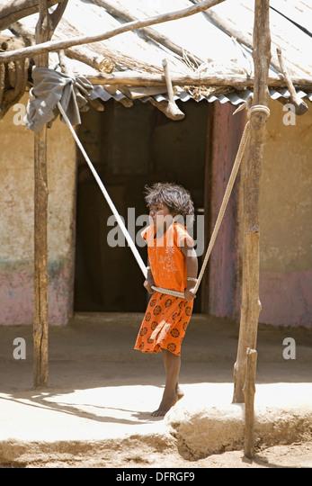 Adivasi child stock photos adivasi child stock images for Swingvillage