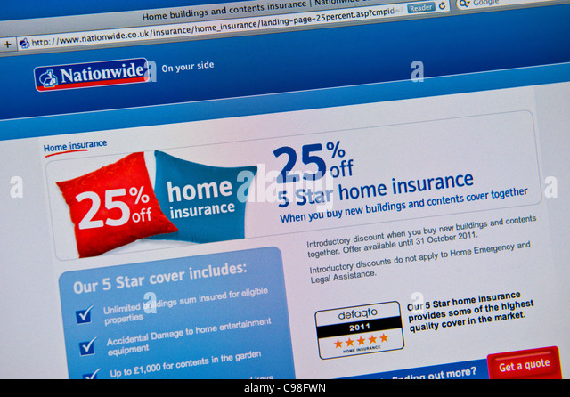 Nationwide Home And Cotents Insurance