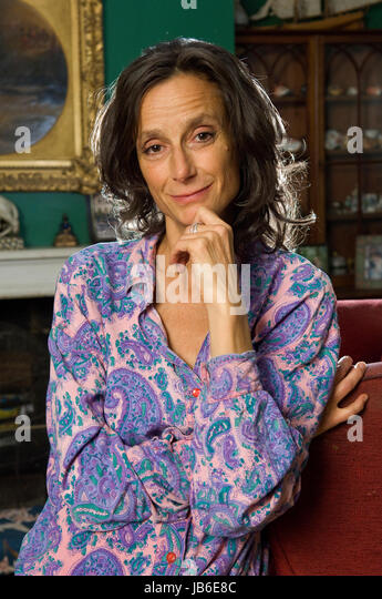 Tracy Somerset, Duchess of Beaufort also known as Tracy Ward, Tracy Somerset,Tracy Worcester photographed  in her - Stock Image