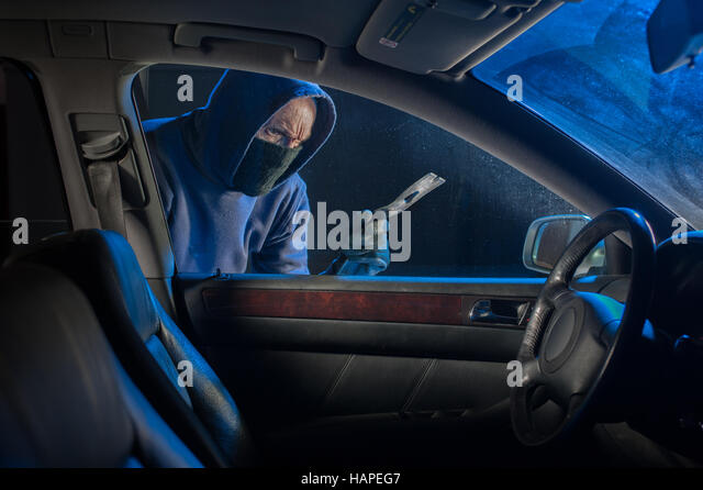 how to break into cars at night
