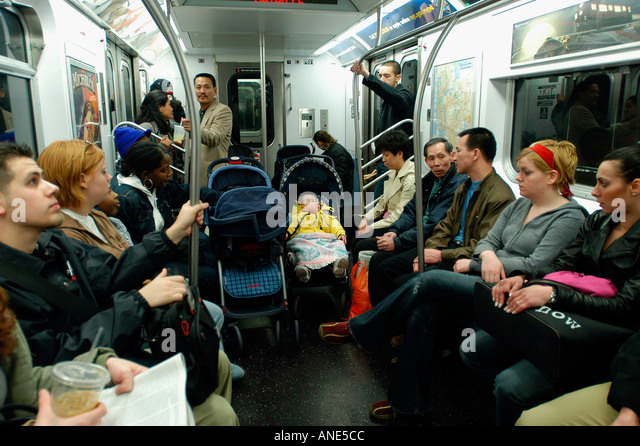 subway car crowd stock photos subway car crowd stock images alamy. Black Bedroom Furniture Sets. Home Design Ideas