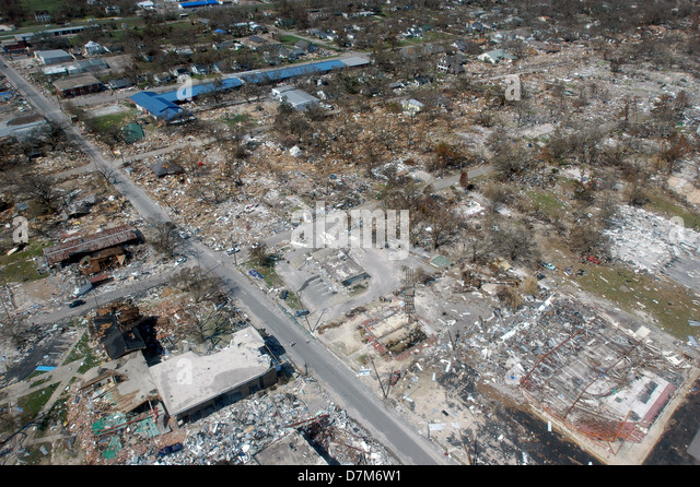 Hurricane Katrina Aerial Stock Photos & Hurricane Katrina ...
