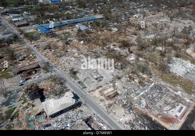 Hurricane Katrina Aerial Stock Photos & Hurricane Katrina ...