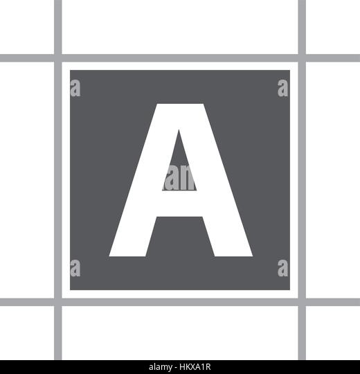 Letter A Stock Vector Alamy