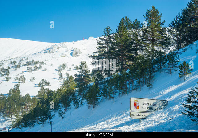 Navacerrada Madrid Stock Photos & Navacerrada Madrid Stock ...