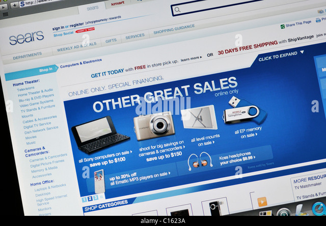 Sears Online Shopping