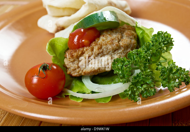 Sliced Beef Tongue Meat Stock Photos & Sliced Beef Tongue ...