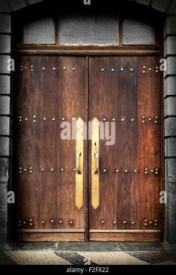Door Doors Vintage Wooden Stock Photos & Door Doors Vintage Wooden ...