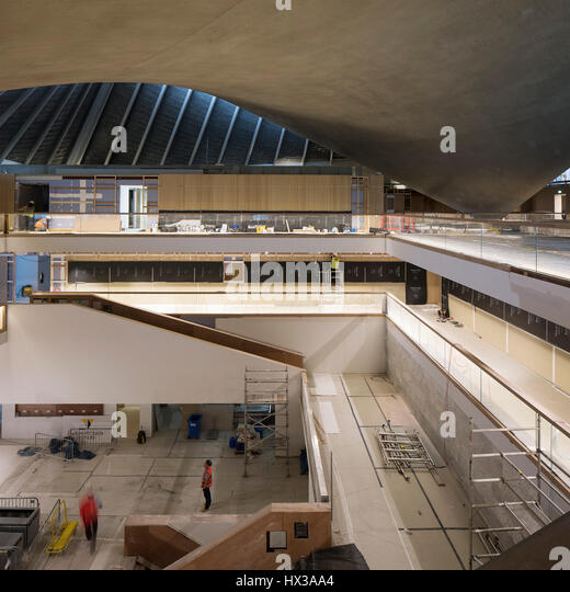Interior view atrium design museum stock photos interior for A d interior decoration contractor