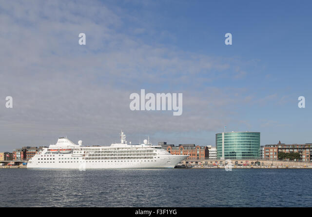 Cruise Ship Copenhagen Harbour Stock Photos Cruise Ship - Cruise ship copenhagen
