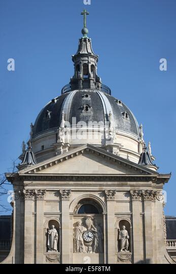 chapelle de la sorbonne. France, Ile De Paris 5e Arrondissement, Bd Saint Michel, Universite Chapelle La Sorbonne