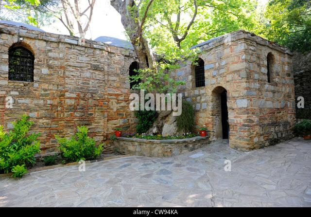Virgin Mary House Ephesus Stock Photos & Virgin Mary House ...