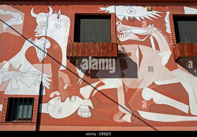 Detail of guernica stock photos detail of guernica stock for Mural guernica