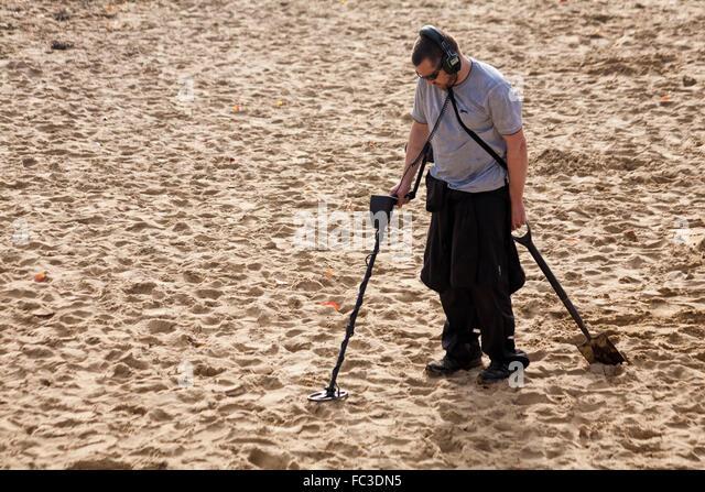 Jew Detector: Male Metal Detecting Stock Photos & Male Metal Detecting