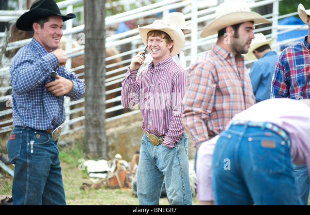 Professional Rodeo Cowboys Association Stock Photos