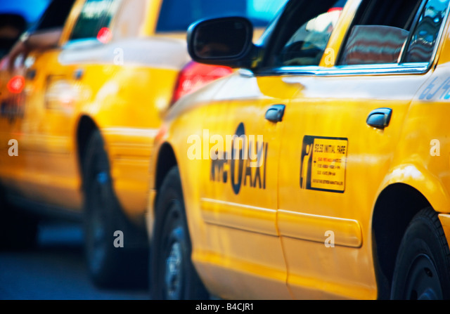New York Taxis Jam Stock Photos New York Taxis Jam Stock
