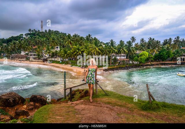 beautiful mirissa beach stock photos   beautiful mirissa