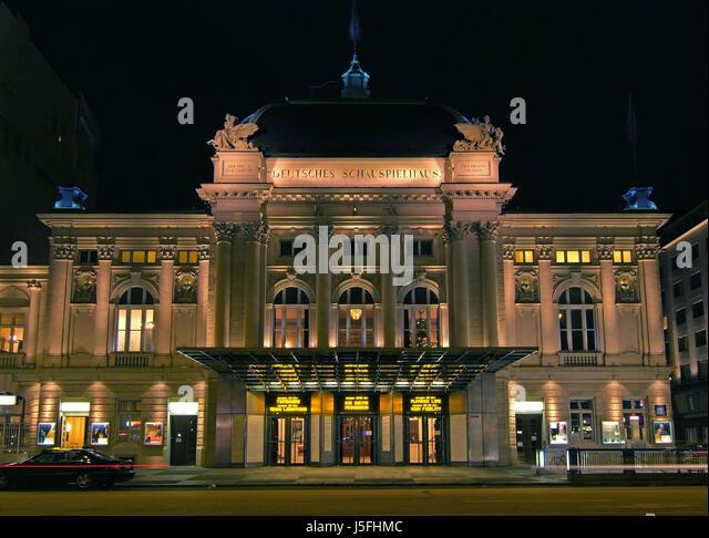 Theatre deutsches schauspielhaus hamburg st georg stock for 13 a table theatre saint georges