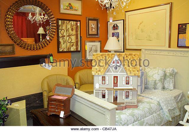 Wonderful Boca Raton Florida Mizner Boulevard Past Perfect Consignment Shop Store  Shopping Antiques For Sale   Stock