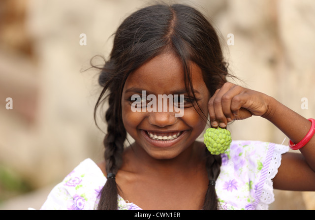 Small indian girl