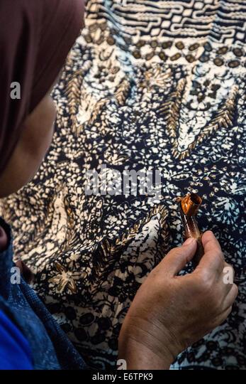 Batik Fabric, Indonesia Stock Photos & Batik Fabric, Indonesia Stock ...