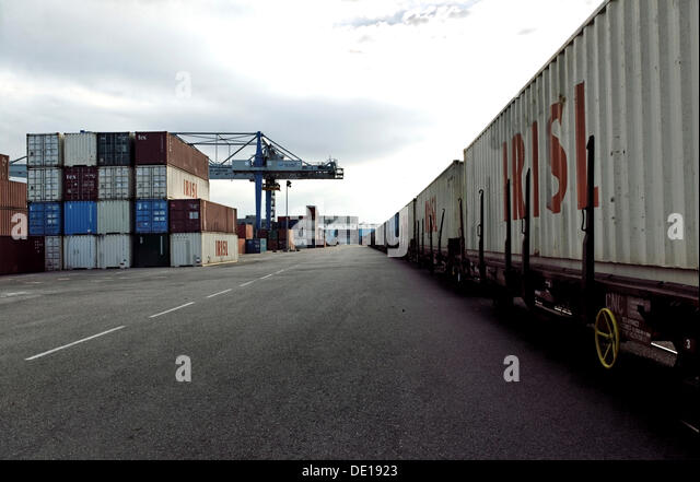 French port goods stock photos french port goods stock for Container alsace