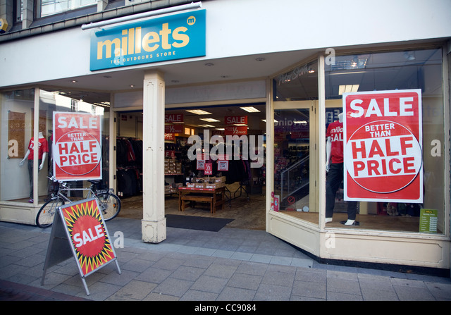 Millets Millets stores in Bath - Opening times, phone numbers and addresses Here you can find all the Millets stores in Bath. To access the details of the store (location, opening times, website and current offers) click on the location or the store name.