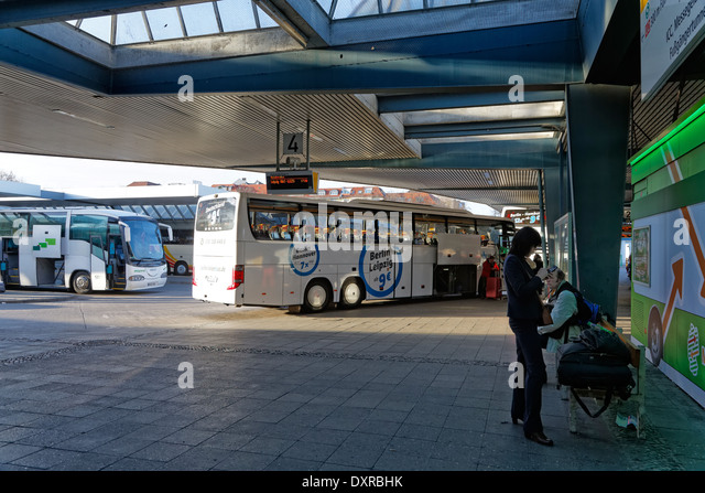 central bus station berlin stock photos central bus station berlin stock images alamy. Black Bedroom Furniture Sets. Home Design Ideas