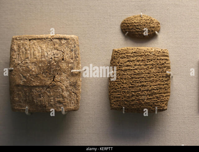 how to write cuneiform in clay
